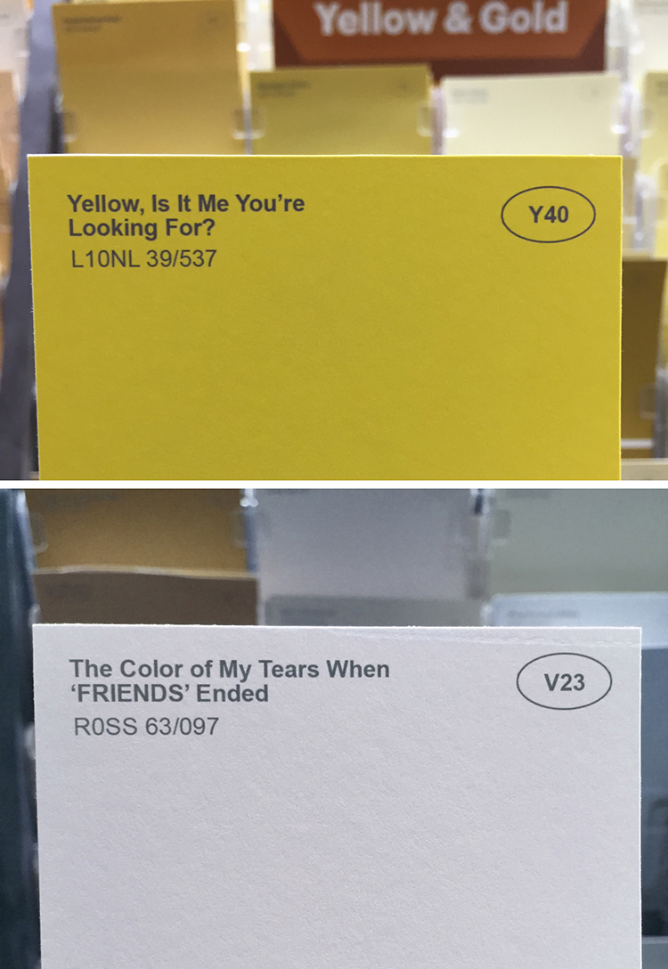 Obvious Plant Adds Clever Fake Names To Ordinary Paint