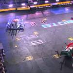 A Compilation of Metal Smashing Combat Robot Fights From The First Episode of 'BattleBots'