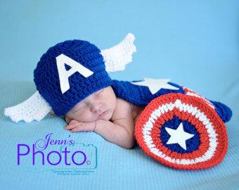 Newborn Captain America