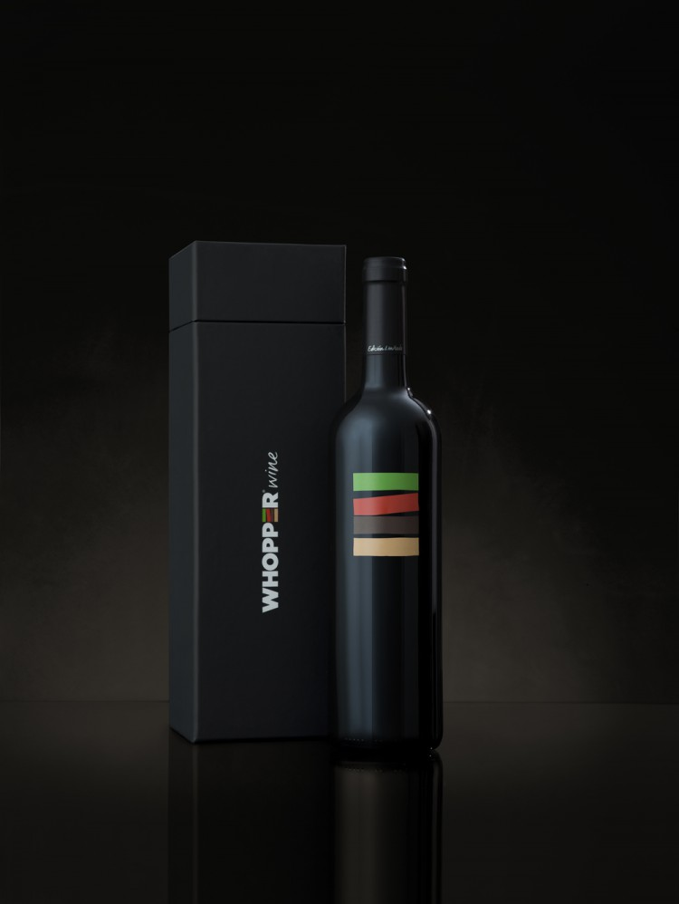 'Whopper Wine', Burger King Crafts a Gorgeously Packaged Local Wine to Be Sold Exclusively in Spain