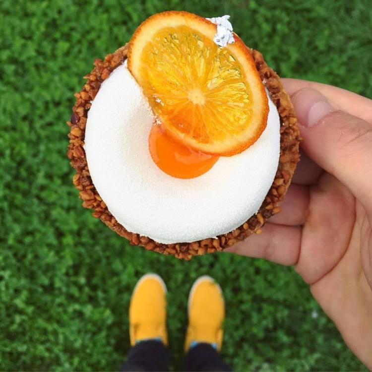 Carrot Orange Tart