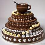 POP Melting, An Incredible Chocolate Cake Zoetrope Animation by Alexandre Dubosc
