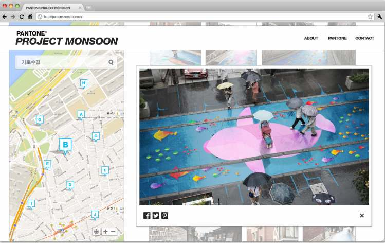 Project monsoon transparent river themed street murals for Blood in blood out mural location