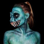 Wonderfully Bizarre Body Paintings by 16-Year-Old Artist Lara Wirth