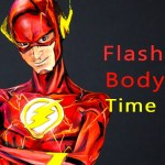 Time Lapse Video of Artist Kay Pike Painting a Flash Costume on Her Body