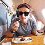 Casey Neistat Gives a Tour of His $21,000 First Class Airplane Seat on Emirates Airlines