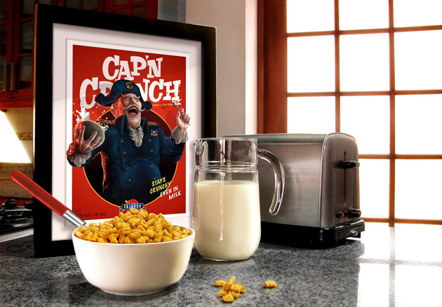 Breakfast Time! - Cereal series photoshoot by Guillermo Fajardo