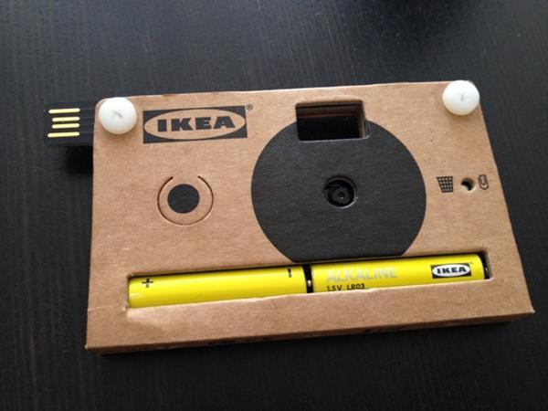 IKEA Cardboard Camera