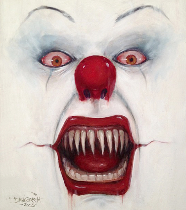 They all float down here! by Dave Correia