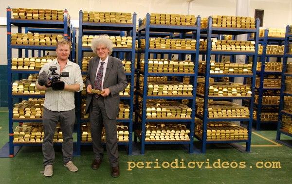 Inside the Bank of England's Gold Bullion Vault
