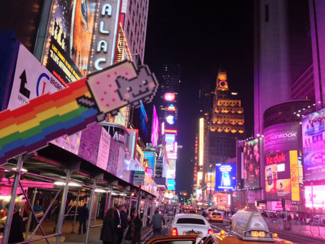 Nyan Cat in NYC