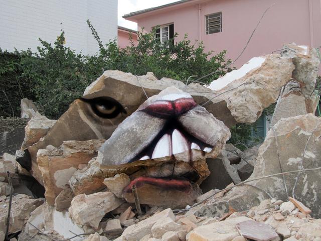 Untitled Street Art by André Muniz Gonzaga (Dalata)