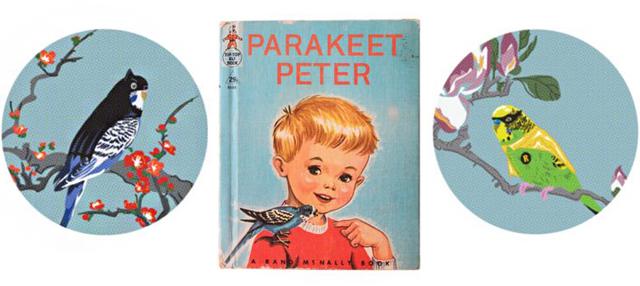 Parakeet Peter by Jim Winters