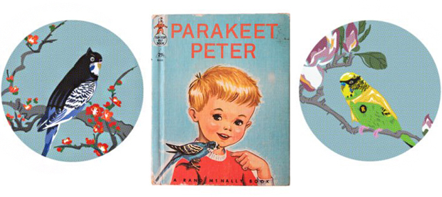 Parakeet Peter by Jim Winters