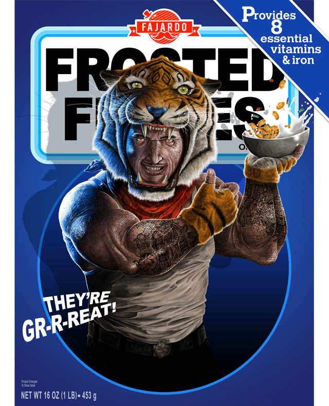 Breakfast Time! - Cereal series (Tony) by Guillermo Fajardo