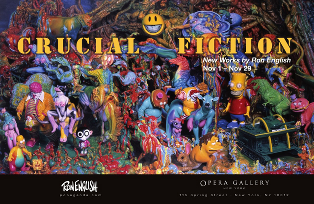 Crucial Fiction: Ron English Solo Exhibition Opera Gallery NYC