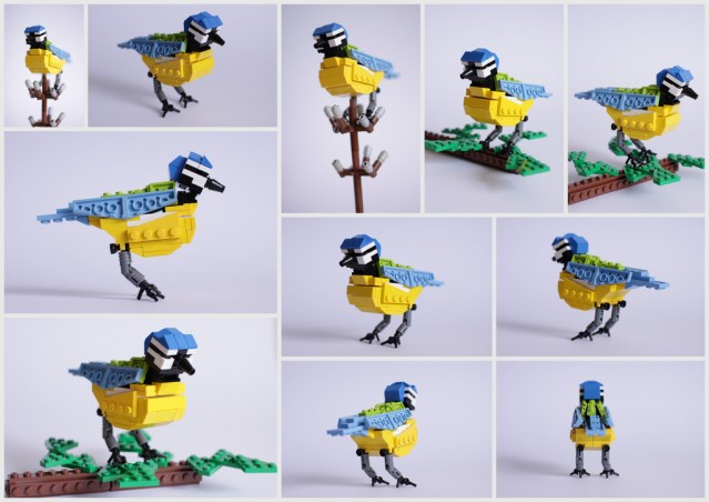 LEGO birds of Britain