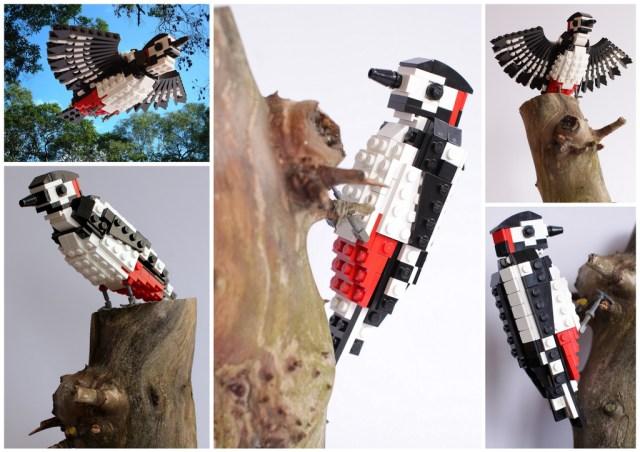 LEGO birds of Britain