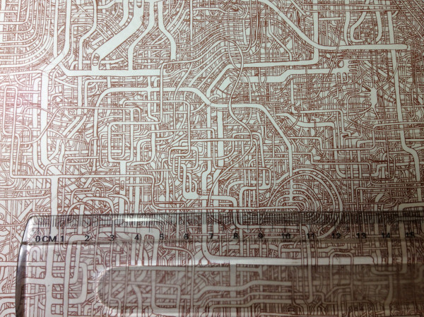 hand drawn maze that took 7 years to make