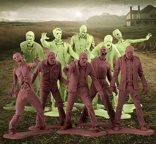 The Walking Dead Zombie Army Men at Gentle Giant, Ltd.
