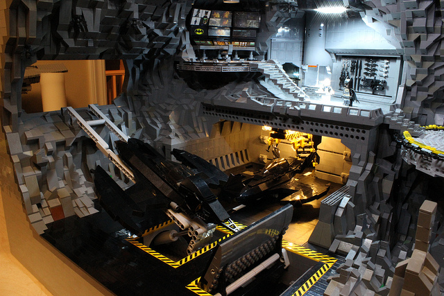 LEGO Batcave by Carlyle Livingston II & Wayne Hussey