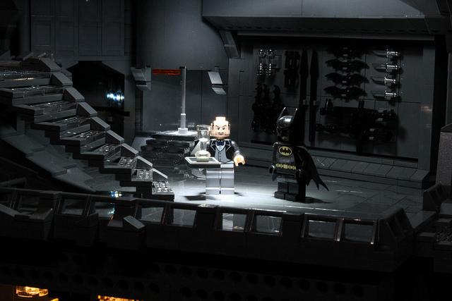 LEGO Batcave by Carlyle Livingston II & Wayne Hussey