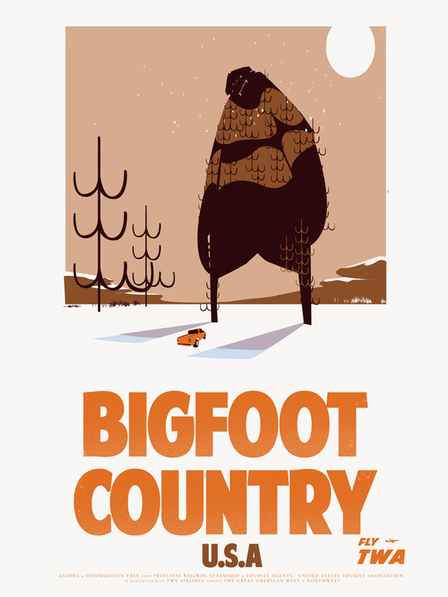 Bigfoot Country by Fernando Reza