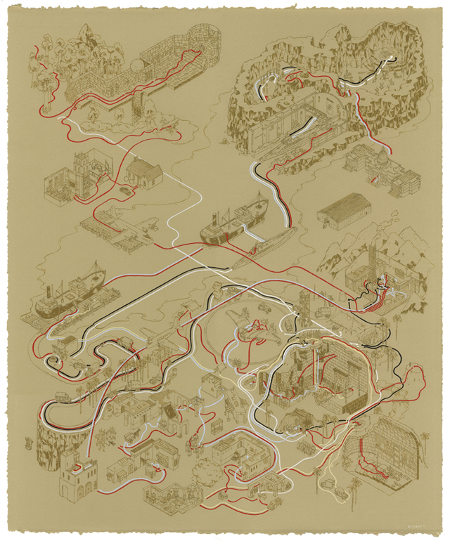 Raiders of the Lost Ark Map