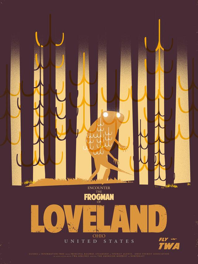 Frogman of Loveland by Fernando Reza
