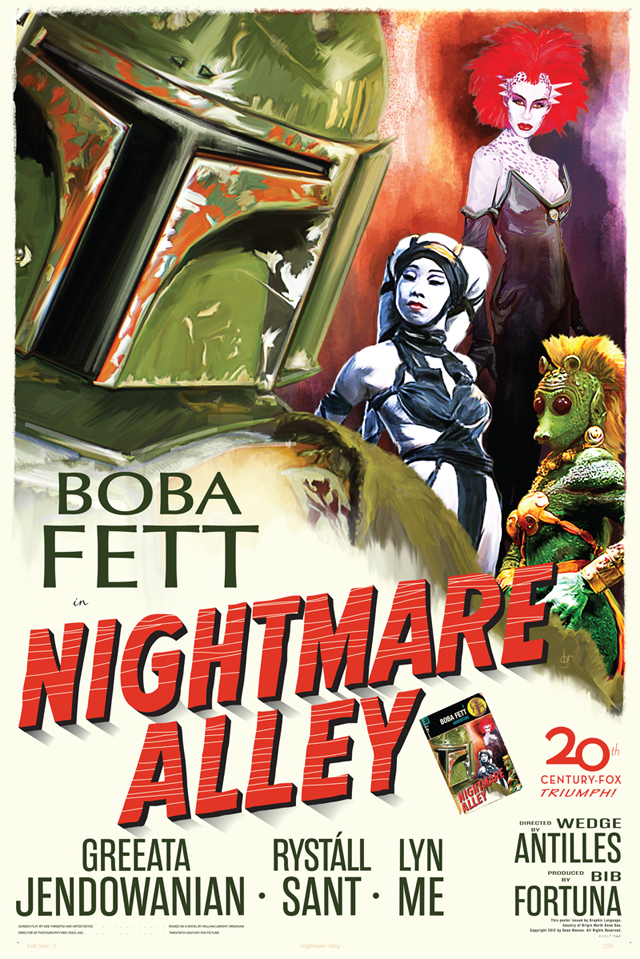 Fett Noir #4: Nightmare Alley by Dean Reeves