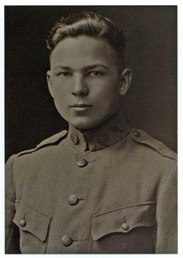 Frank Buckles at 16