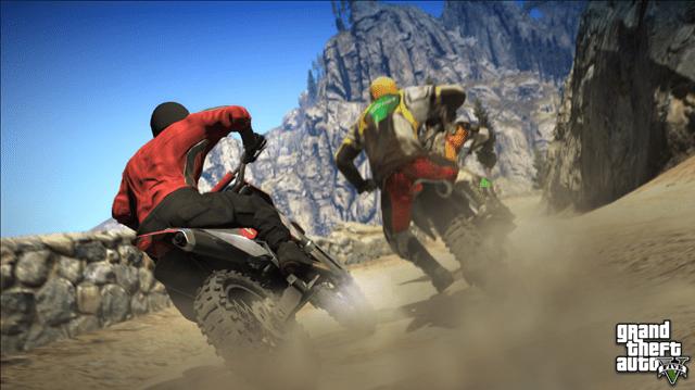 Grand Theft Auto V by Rockstar Games (Screen)