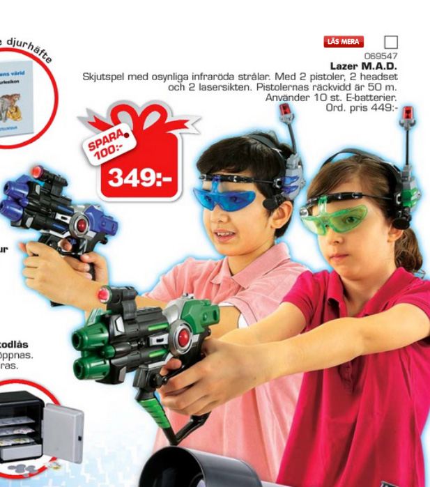 Christmas is coming - sexist toys encounter!