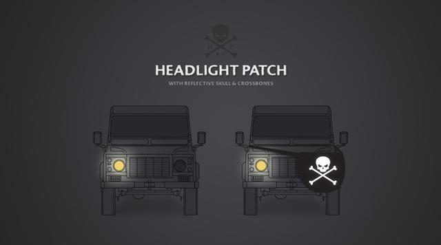 Headlight Eyepatch
