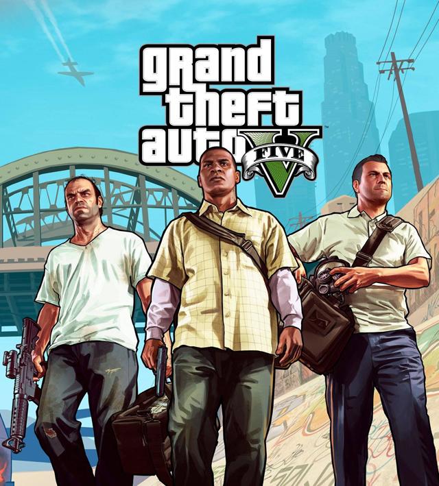 Grand Theft Auto V by Rockstar Games