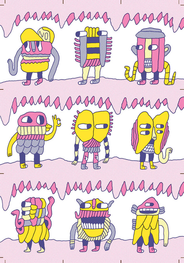Cave Creature Stinckers by Makkinoso