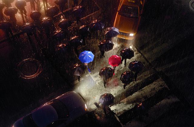 The Blue Umbrella 2