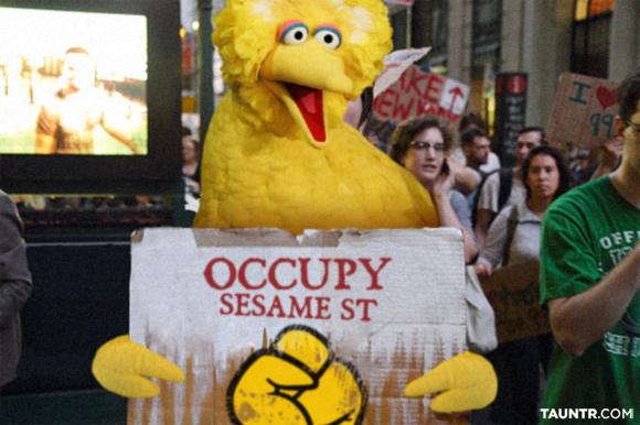 Occupy Sesame Street