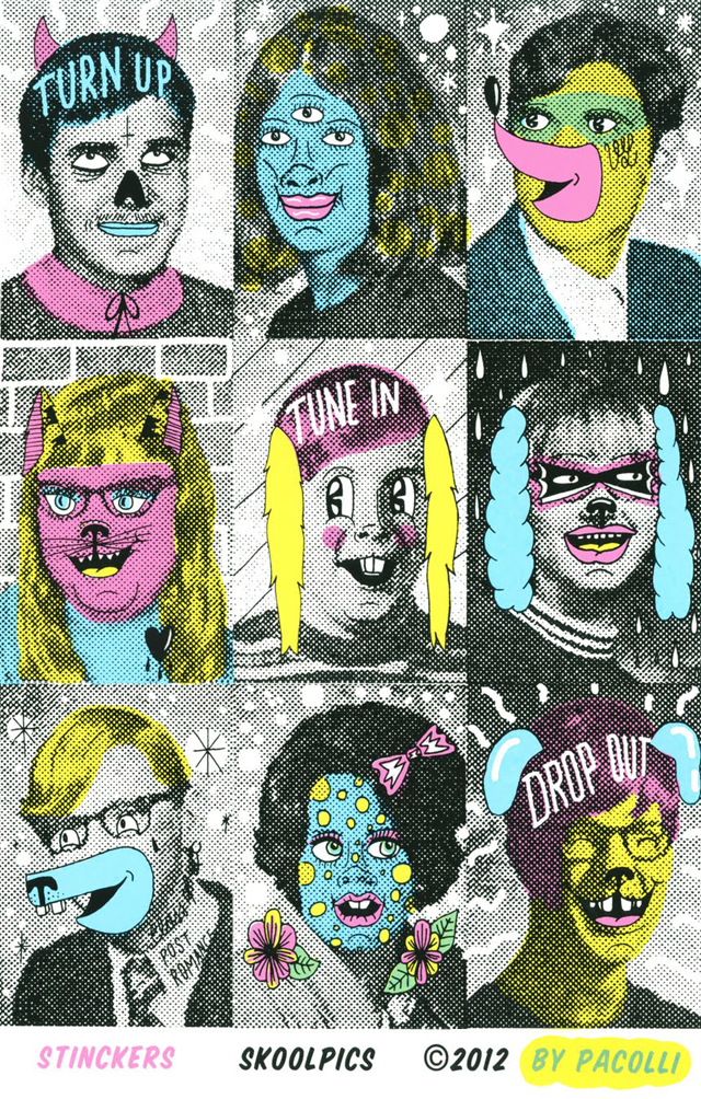 HIGH Skool Yearbook Pics Stinckers by PACOLLI