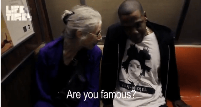 Are you famous?