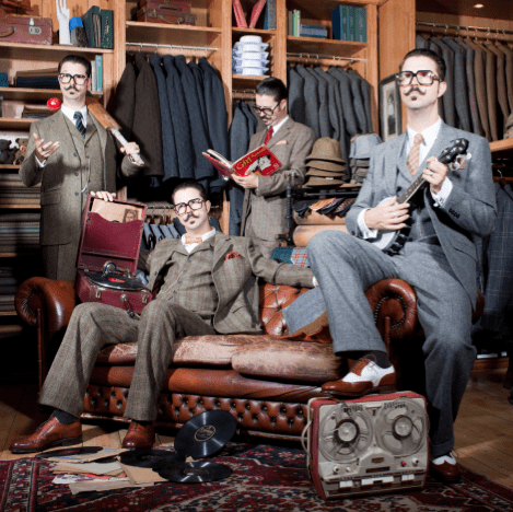The Tweed Album by Mr. B The Gentleman Rhymer
