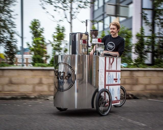 Velopresso Espresso Vending Tricycle