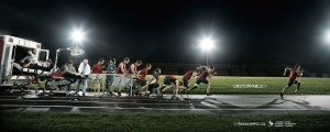 Running Ad for Canadian Paralympic Committee