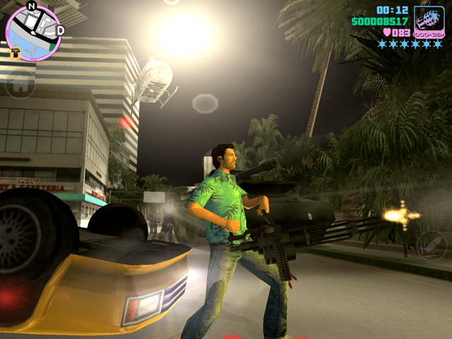 Grand Theft Auto: Vice City 10th Anniversary Edition (Screen Shot)
