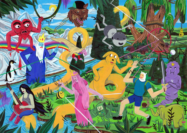 Adventure Time by Brecht Vandenbroucke