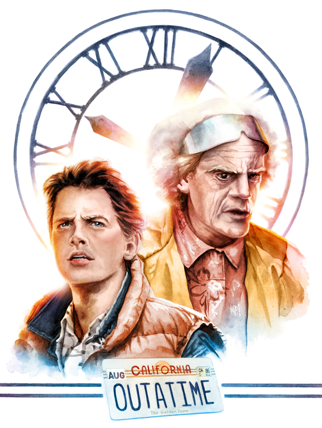 Back To The Future by Jayson Weidel