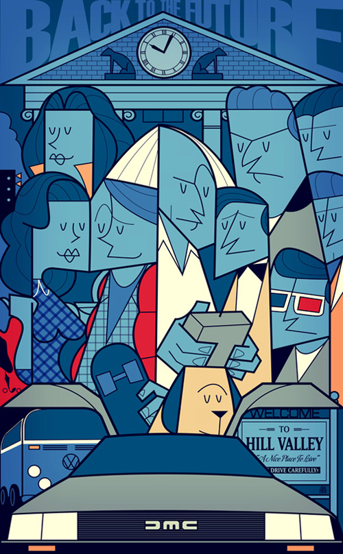Back to the Future by Ale Giorgini