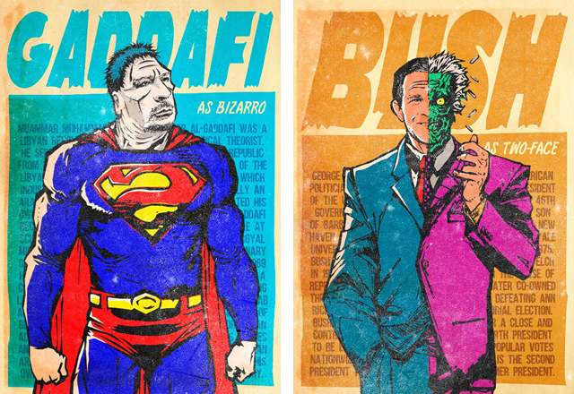 The Legion of Real Life Supervillains by Butcher Billy