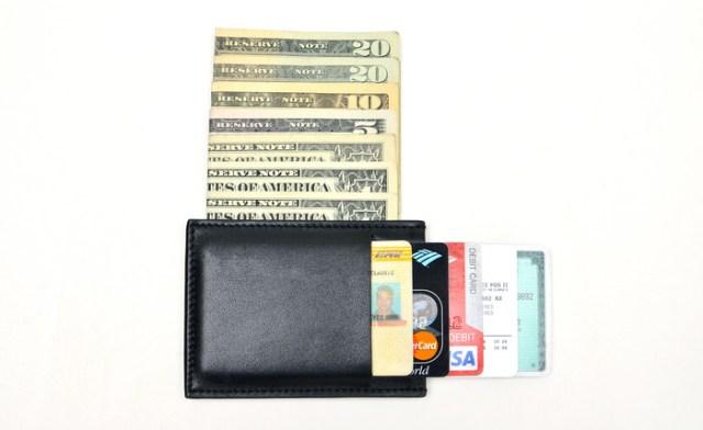The Minimalist super thin wallet