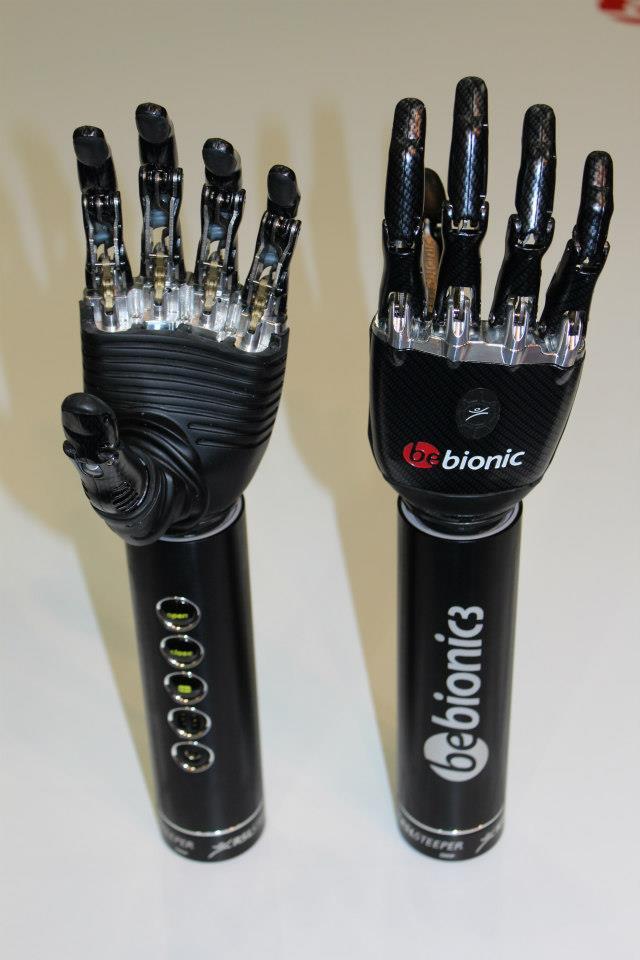 bebionic3 bionic prosthetic hand by RSLSteeper